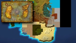 Azeroth In Maps: Kalimdor Alpha and Beta