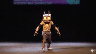 Ну, погоди! Заяц-робот - Одиночное косплей дефиле - Geek-конвент