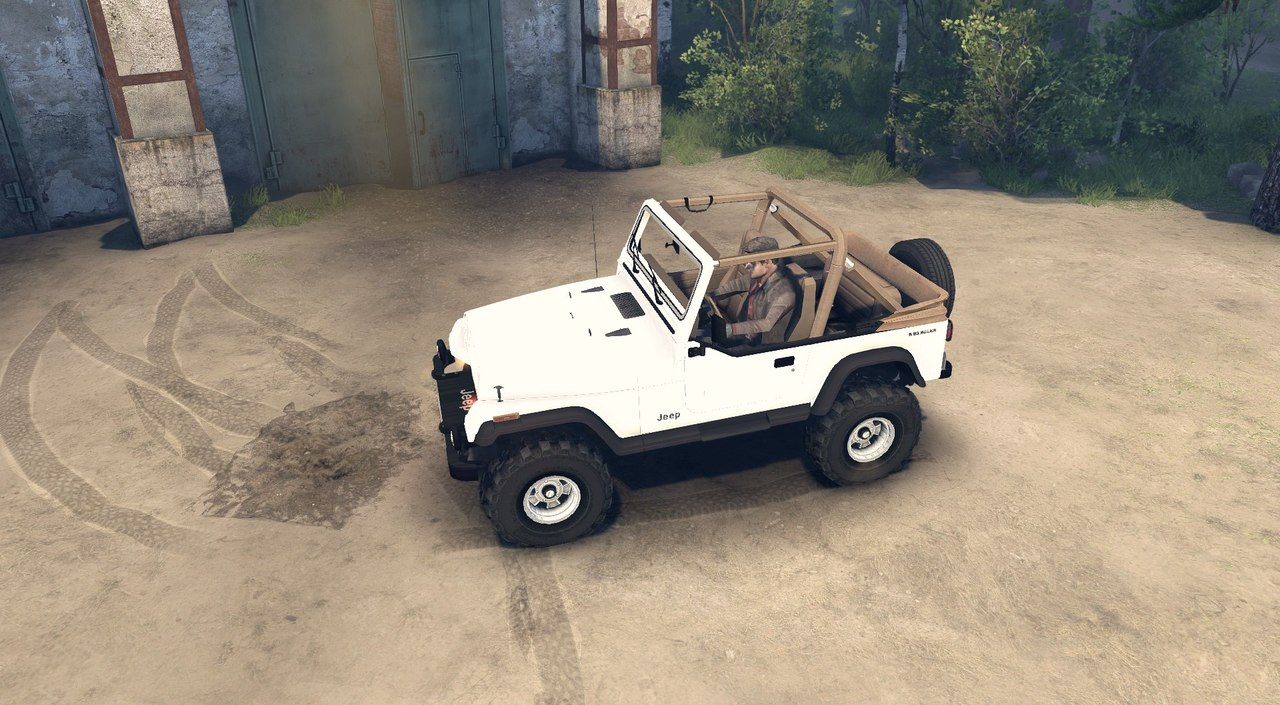 Jeep Wrangler для Spintires - Скриншот 2