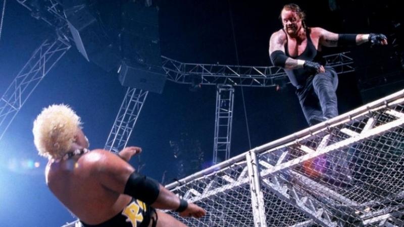 (WWE Mania) Armageddon 2000 - Steve Austin vs Triple H vs The Rock vs Kurt Angle(c) vs The Undertaker vs Rikishi - WWF Champion