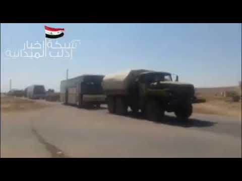 SYRIATHE SYRIAN ARMYS REINFORCEMENTS CONTINUE IN RURAL IDLIB LATAKIA AND HAMA