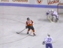 NHL Квебек Нордикс Филадельфия Флайерз обзор 09 12 1989