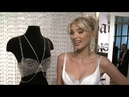 Elsa Hosk unveils $1 million bra
