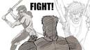 Anime Fight Study Breakdown Real Animator Training
