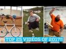 Удивительные люди - невероятные трюки! Топ 25 видео!