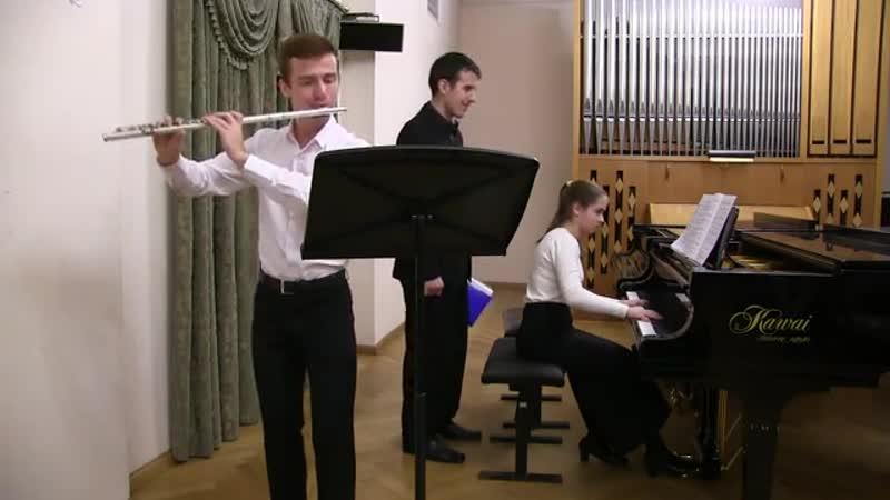 Долина грёз для флейты и фортепиано