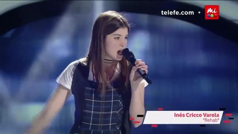 """La Voz Argentina on Instagram: """"Inés cantó Rehab de Amy Winehouse, pero los coaches no giraron sus sillas 😲 ¿Estás de acuerdo con su decisión? 🤔 ..."""