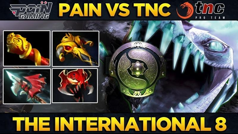 PAIN vs TNC - Tavo NEW Meta Carry Build for Winter Wyvern - EPIC Dota 2 TI8