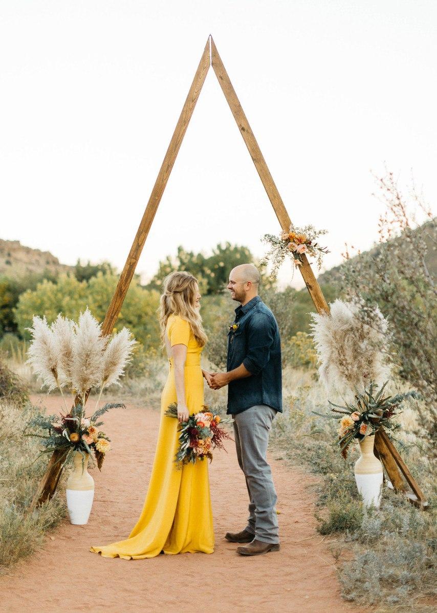x8lK0DlNHwA - Цветное платье невесты