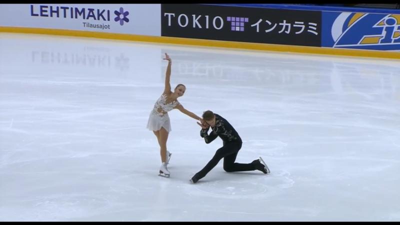 Aleksandra BOIKOVA / Dmitrii KOZLOVSKII - FS - Finlandia Trophy 2018