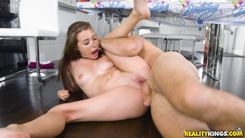 Sweet babe Carolina Sweets becomes an adult woman on her 18th birthday