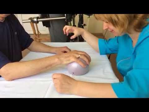 Реабилитационные упражнения для руки после инсульта 11 ГКБ