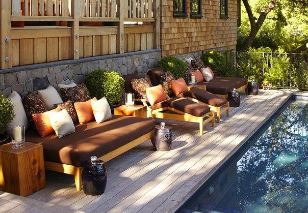 Декор интерьера Дом в Калифорнии: стильное и функциональное пространство