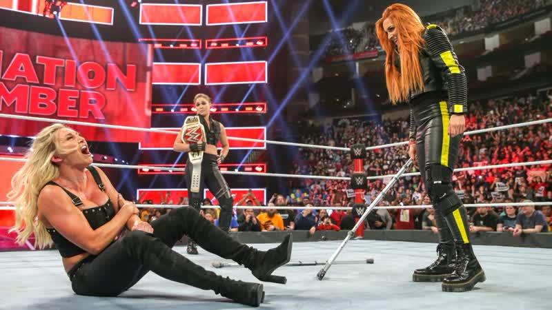 (WWE Mania) Клетка Уничтожения 2019 Ронда Раузи vs Руби Райотт
