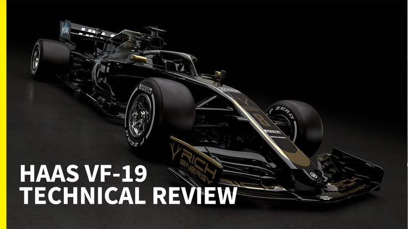 First look at a 2019 F1 car: Haas VF-19 technical analysis