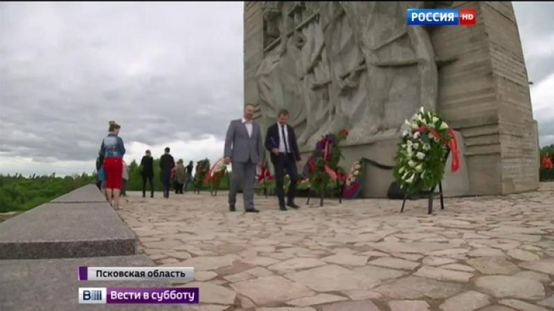 Непокоренный: на месте нацистского лагеря Дулаг-100 открылся мемориал