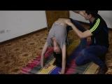 Yoga tickle challenge