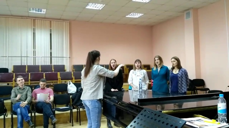 Jam Sound Choir - Ave verum [alto] (rehearsal, part 2) » Freewka.com - Смотреть онлайн в хорощем качестве