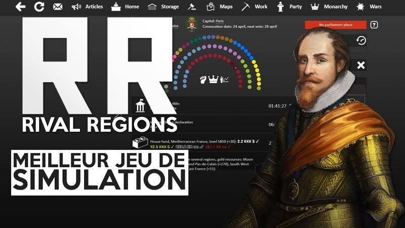 LE MEILLEUR JEU DE SIMULATION POLITIQUE - Présentation de Rival Regions
