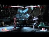 Injustice: Gods Among Us: The Flash Vs. Cyborg gameplay (Xbox 360)