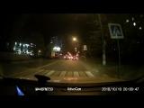 Велосипедисты в Ивантеевке ночью.