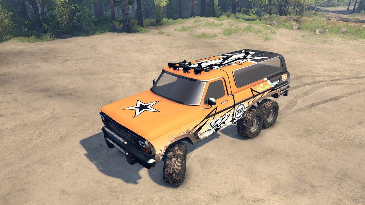 Ford(Truck Fire jump) для Spintires - Скриншот 2