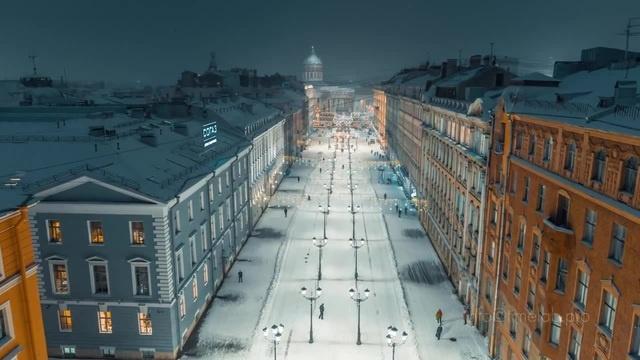 Sank Petersburg, Russia - aerial.