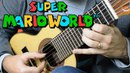 Super Mario World (Overworld Theme) - Mini Guitar (Marcos Kaiser)