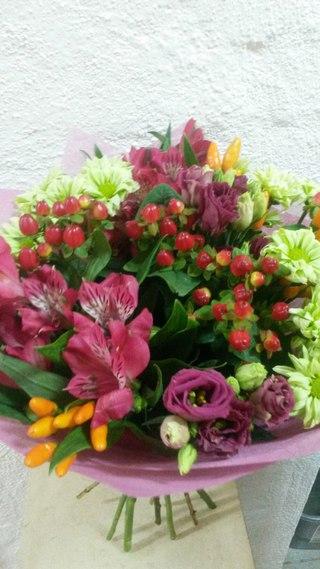 Купить цветы все_пучком доставка цветов спб цветотека