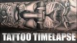 TATTOO TIMELAPSE GREEK GOD HERCULES CHRISSY LEE