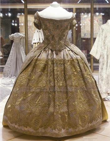 Платья елизаветы императрицы