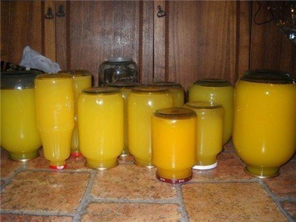 Тыквенный сок с апельсином.
