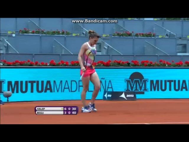WTA Mutua Madrid Open 2016 Quartefinals Highlights