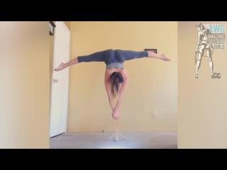 Sls crazy strength  flexibility girl - leslie munoz _ fitness motivation 2017