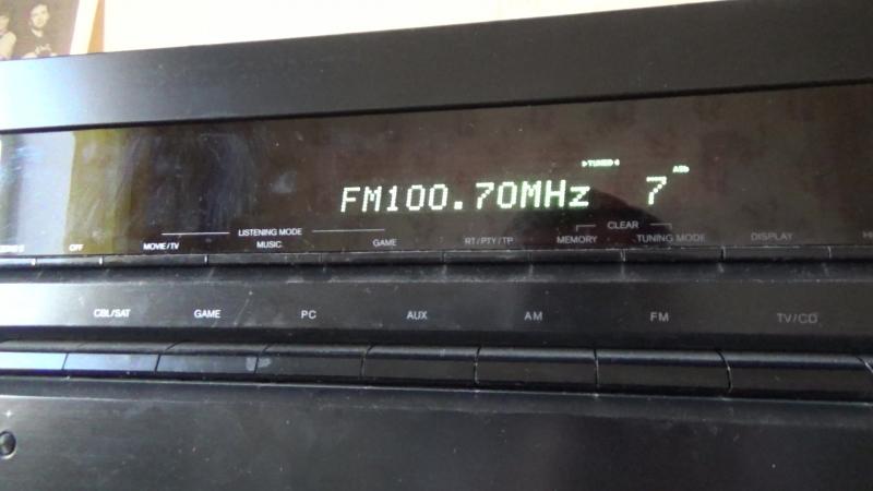 Радиоприём Артёмовский (03.07.2018)