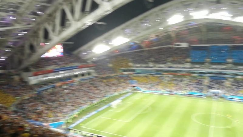 Победный гол Тони Крооса в ворота шведов на последних секундах.