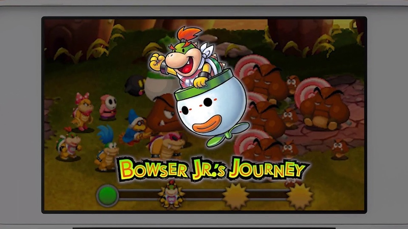 Mario Luigi: Bowser's Inside Story Bowser's Jr.'s Journey - Trailer (3DS)