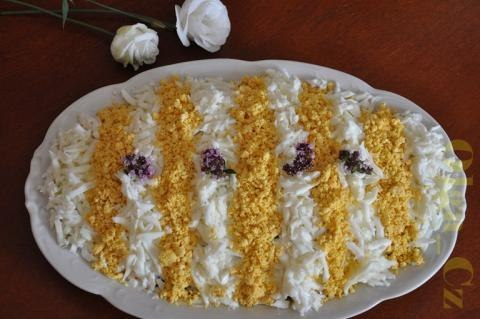 рецепты салата с курицей