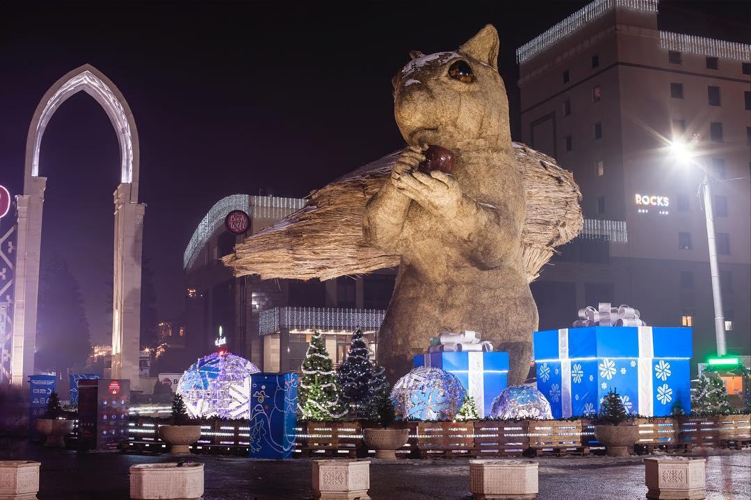 Где пройдёт празднование Нового года в Алматы _____ ⠀ 31 дек