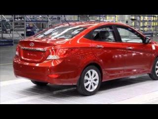 Хендай Солярис(Hyundai Solaris) видео обзор 2014