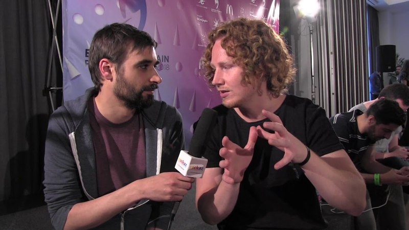 ESCKAZ in Madrid Interview with Michael Schulte (Germany)