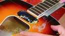 Gretsch Acoustic ремонт трещин акустической гитары