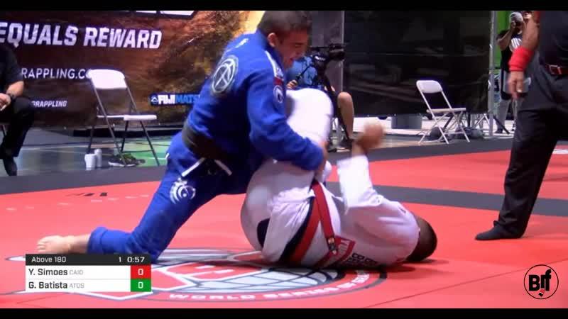 Yuri Simoes vs Gustavo Batista World Series of Grappling