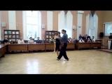 Танго импровизация Антон Карпов и Наталья Попова