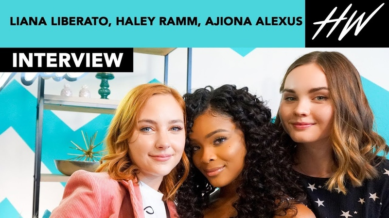 Light As A Feather Liana Liberato, Haley Ramm, Ajiona Alexus Reveal Celeb Girl Crush | Hollywire