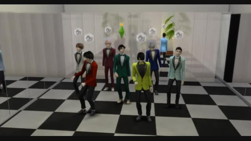 BTS DANCE SIMS4