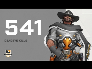 What time is it - - There were 541 Deadeye kills in the OWL2018 inaugural season!