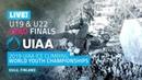 Oulu Finland l Lead Finals U19's U22's l 2019 UIAA World Youth Championships