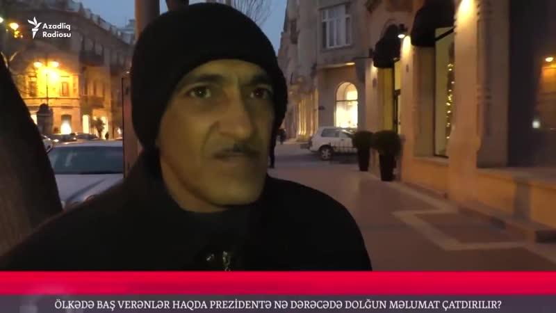 Гражданин Азербайджана : Ильхам Алиев все знает и обо всем в курсе.Азербайджан Azerbaijan Azerbaycan БАКУ BAKU BAKI Карабах 2019