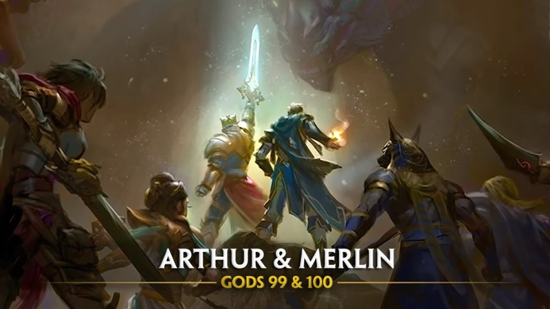 SMITE - Sneak Preview - Arthur Merlin (Gods 99 100)